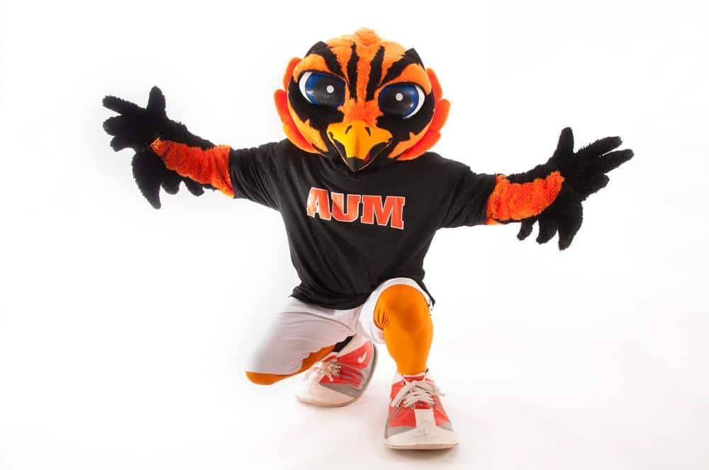 AUM mascot Curtiss